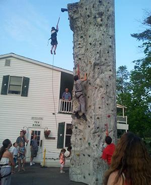 Rock Climbing Wall Night!