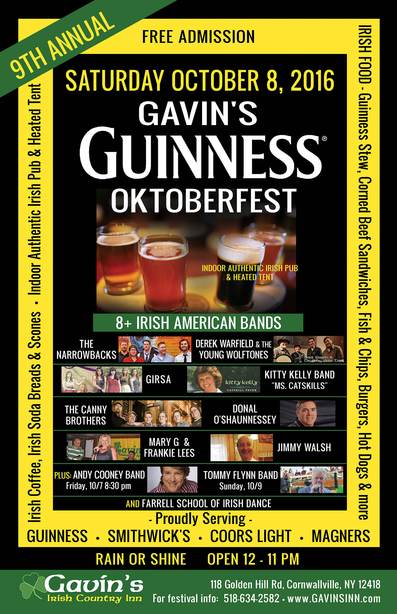 9th Annual Guinness Oktoberfest