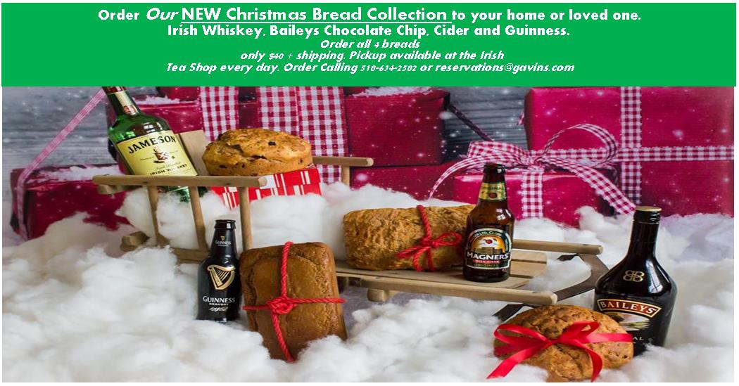 Order our NEW Christmas Breads Collection today