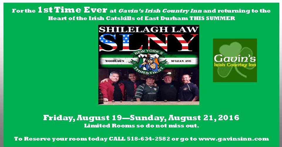 Shilelagh Law at Gavin's!